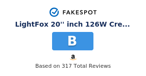 Fakespot Lightfox 20 Inch 126w Cree Led Light Bar Offroad 4wd Spot Fake Review And Counterfeit Analysis
