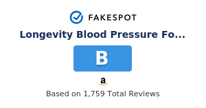 Fakespot Longevity Blood Pressure Formula Clinically Proven With