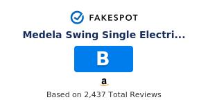 Fakespot Medela Swing Single Electric Breast Pump Fake Review