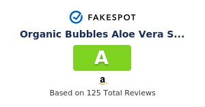 Fakespot Organic Bubbles Aloe Vera Shampoo Conditioner Promotes Hair Growth Healthy Hair Fake Review And Counterfeit Analysis