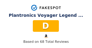 Fakespot Plantronics Voyager Legend Bluetooth Headset With Charging Case Bundle Fake Review And Counterfeit Analysis
